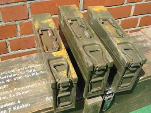 MG3/MG42 7,62x51 Ammo Crate - heaviest used / rusted / dented