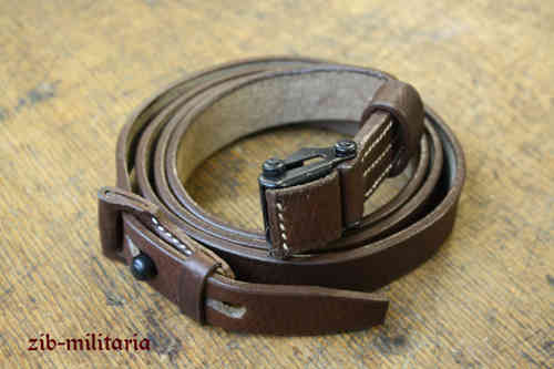 K98 leather sling (K43,Stgw.44), dark brown
