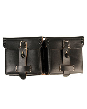 WH pouches G43, leather, repro