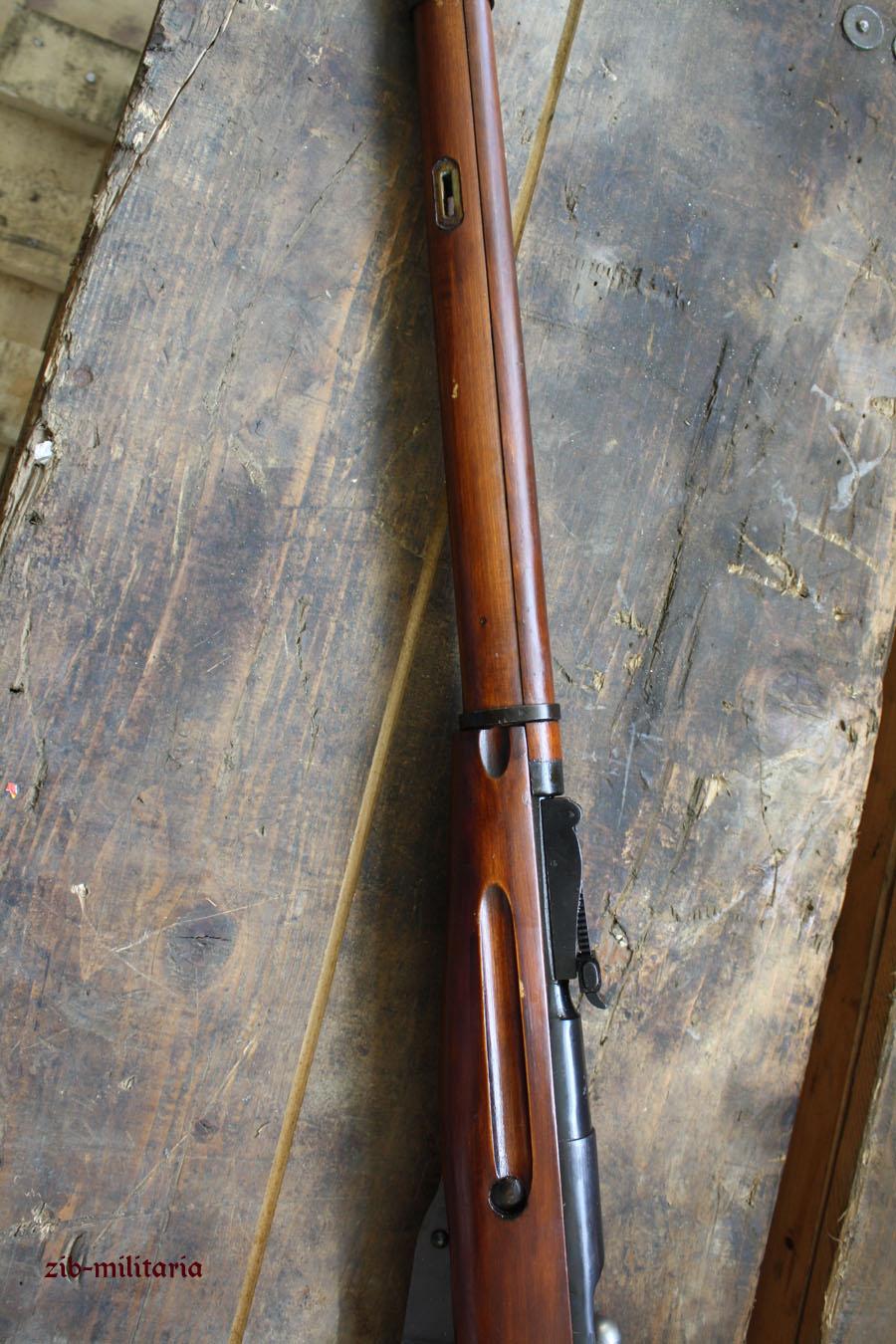 Mosin Nagant M91 30 Deactivated Rifle Wwii M1891 Original Parts Diagram 91