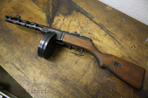 PPSH41, WWII original, deactivated MP (WWII)