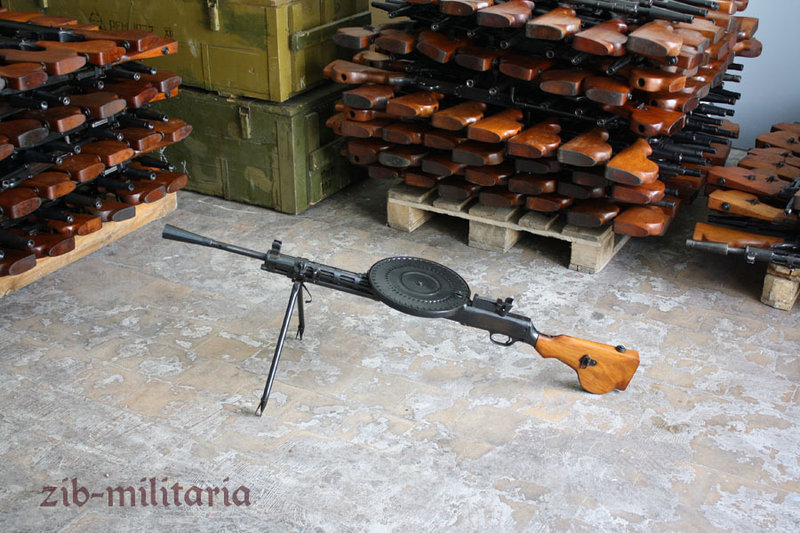 DP28, deactivated MG (WWII)