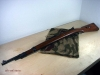 Mauser 98K, Norwegian depot stock, deactivated rifle (WWII)