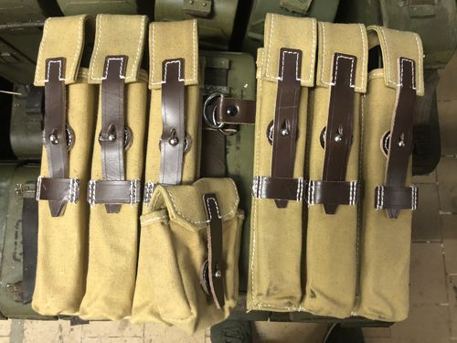 Afrika Korps Mag pouches MP38/MP40, set of 2