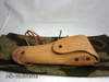 US belt holster for Colt 1911, Natural leather