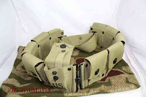US pouch belt for M1 Garand clips, 10 pocket
