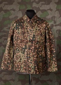 WX field blouse M44 pea dot (4-COLOURS)