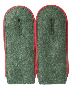 WH shoulder boards Mannschaften, red