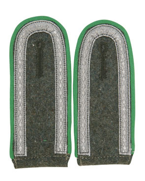 WH shoulder boards UFFZ, green (18302003)