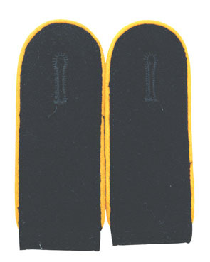Shoulder Boards Wehrmacht Panzer, yellow (18304001)
