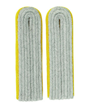 Shoulder Boards Wehrmacht Offizier Leutnant, golden yellow (18306002)