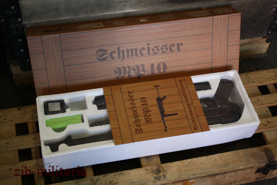 Mp40 Steel Body Aeg 0 5 Joule Agm Gsg Wehrmacht Wii