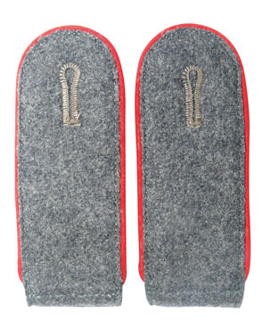 WH Luftwaffe Mannschaften Shoulder Boards, red (18311006)