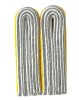WH Luftwaffen Offizier Leutnant Shoulder Boards, yellow (18315001)