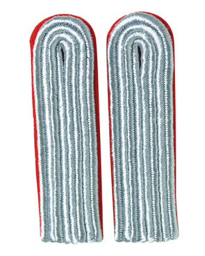 WH Luftwaffe Offizier Leutnant Shoulder Boards, red (18315006)