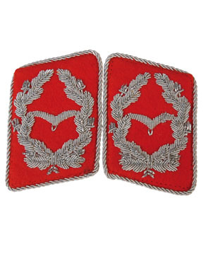 WH LW Kragenspiegel Major Rot (18319130)