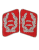 WH Luftwaffe Oberstleutnant Collar Tab, red (18319140)