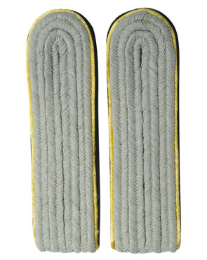 WX Shoulder Boards Offizier Leutnant, yellow (18322001)