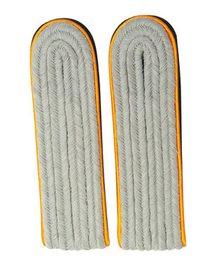 WX Shoulder Boards Offizier Leutnant, orange (18322004)