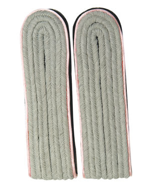 WX Shoulder Boards Offizier Leutnant, pink (18322005)
