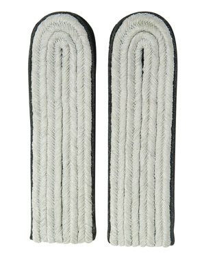 WX Shoulder Boards Offizier Leutnant, black (18322007)