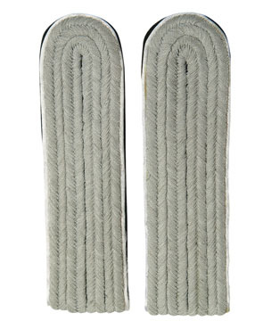 WX Shoulder Boards Offizier Leutnant, white (18322008)
