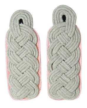 WX Shoulder Boards Offizier Major, pink (18323005)