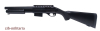 Mossberg Pump-Gun M590, fixed stock, spring system