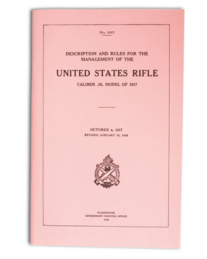 US technical manual M1917 Eddystone