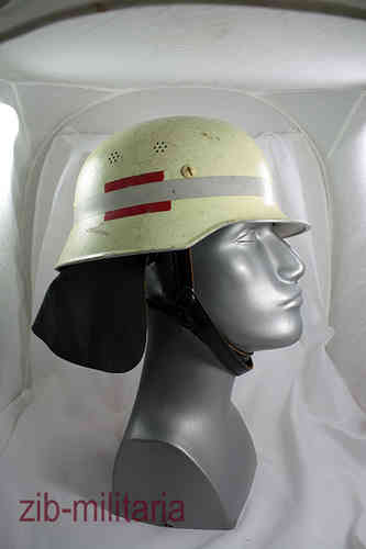 German Army fireworker helmet