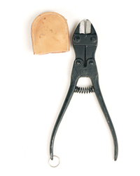 Swedish Army wire cutter with cover