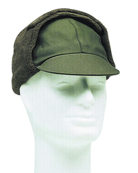 German Army winter field cap, oliv