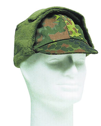 German Army winter field cap, dot camo