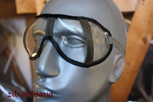 WH Dusk protection goggles M42, clear, org.