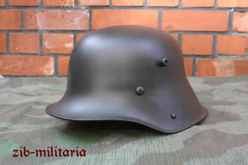 M16 steel helmet WWI, german casque Model 1916, grey