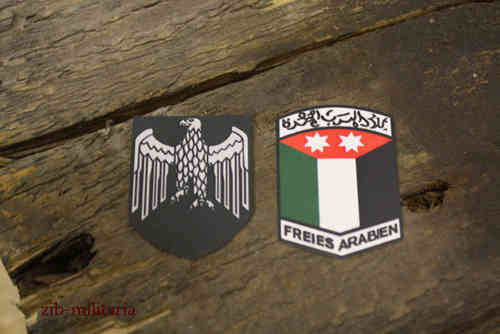 Free Arabia helmet decals for M35,M40,M42 steel helmet