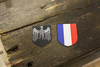 France helmet decals for M35,M40,M42 steel helmet