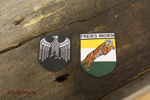 India helmet decals for M35,M40,M42 steel helmet