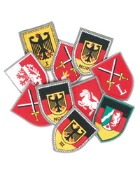 German Army decal set (10pcs - no Doubles)