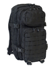 Aussault backpack, black , 50 Liter