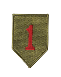 "US WWII Patch ""1ST DIV."""