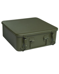 French Army crate, metal