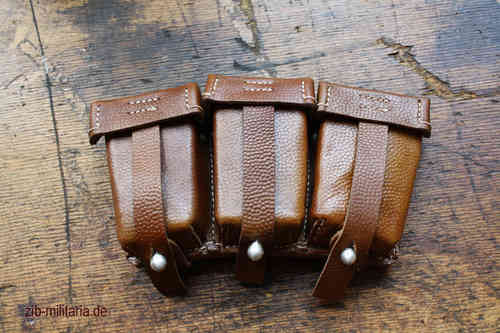 WH Pouches K98, brown, repro