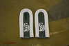 Shoulder Boards Wehrmacht Uffz. GD, white