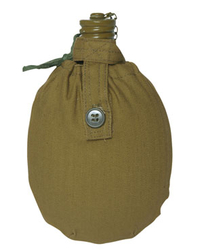 Red Army field bottle with cover
