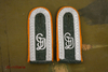 Shoulder Boards Wehrmacht Uffz. GD, orange