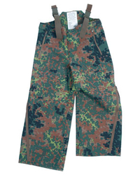 German Army wetness protection pant, dot camo