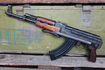 AK47 Folding stock, China Type-56-1, deactivated assault rifle
