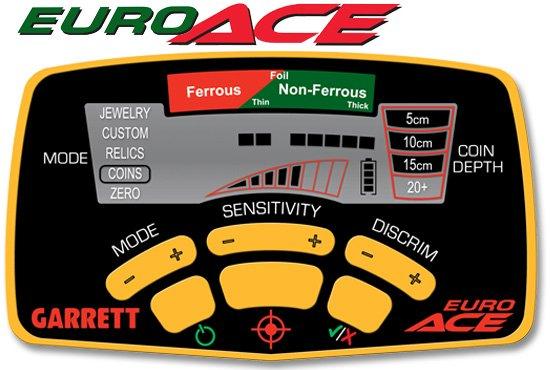 Dtecteur de mtaux Garrett EURO ACE, test sur le terrain. -