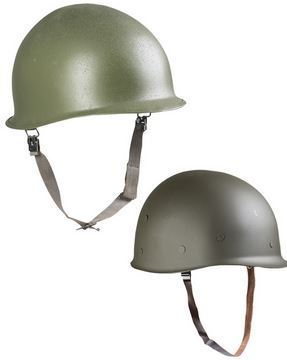 US Army M1 steel helmet